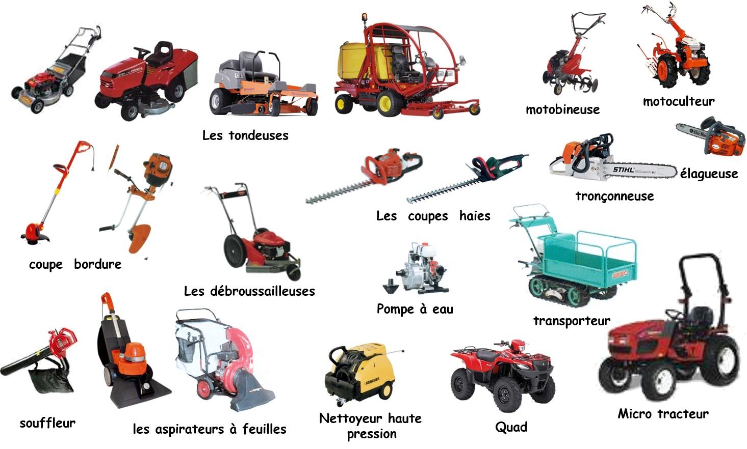 Formation entretien et maintenance des espaces verts for Entretien materiel jardinage