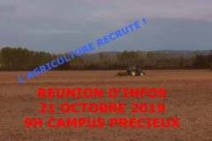 L'Agriculture recrute !!